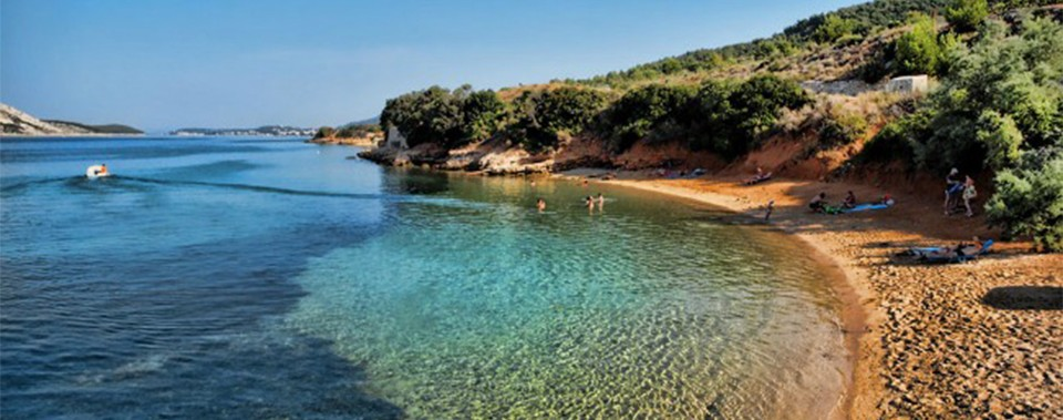 Imaginable beaches: Island Rab has more sand and rocky beaches than any other place in the Adriatic Sea, with some of the cleanest and clearest sea.